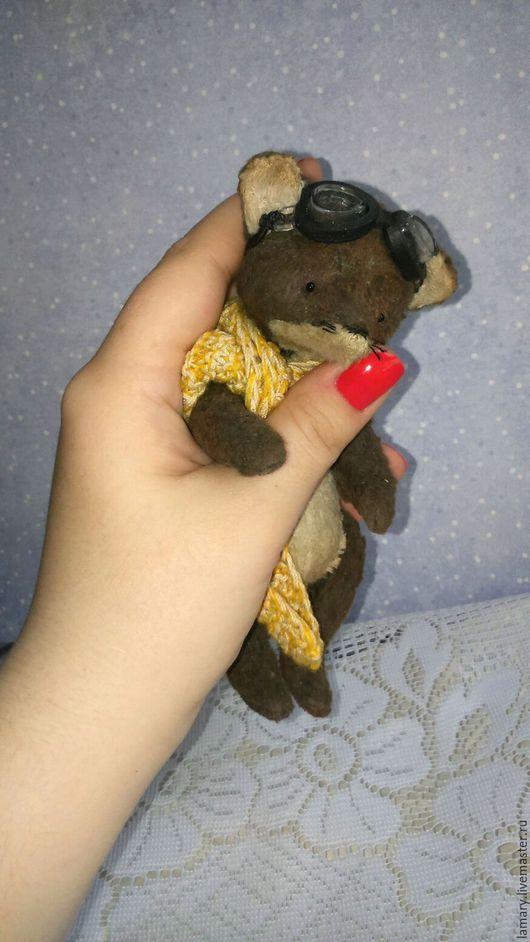 Мишки Тедди ручной работы. Ярмарка Мастеров - ручная работа. Купить Тедди ЛИС Маленький принц. Handmade. Темно-серый