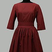 """Одежда ручной работы. Ярмарка Мастеров - ручная работа платье """"Бордо"""". Handmade."""