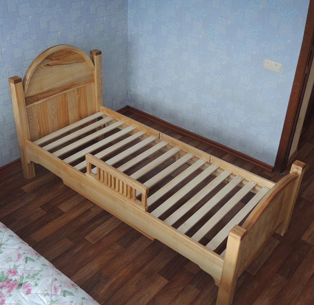 Кровать из массива ясеня, Кровати, Тольятти,  Фото №1