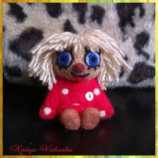 Сказочные персонажи ручной работы. Ярмарка Мастеров - ручная работа. Купить Валяные Домовятки (домовенок Кузя,игрушка из войлока)войлочная игрушка. Handmade.