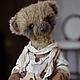Мишки Тедди ручной работы. Заказать миша. евгения (evgehiya). Ярмарка Мастеров. Подарок, шерсть, кожа натуральная