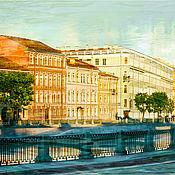 Картины и панно handmade. Livemaster - original item Fine art photography of Petersburg city view