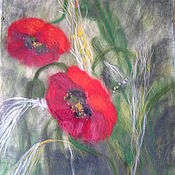 Картины и панно handmade. Livemaster - original item Poppies. Handmade.
