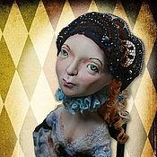 """Куклы и игрушки ручной работы. Ярмарка Мастеров - ручная работа Авторская кукла """" Бина"""" Для примера. Handmade."""