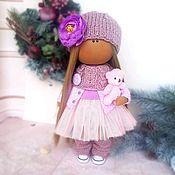 Куклы и пупсы ручной работы. Ярмарка Мастеров - ручная работа Кукла текстильная игровая интерьерная у которой одежда снимается вся. Handmade.