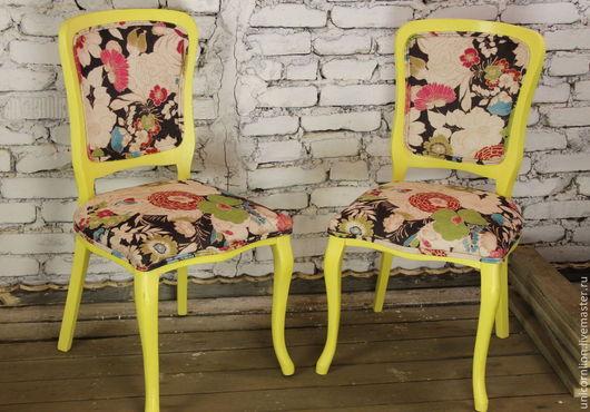 Мебель ручной работы. Ярмарка Мастеров - ручная работа. Купить Комплект стульев (2шт). Handmade. Стул, стулья для кухни, краска