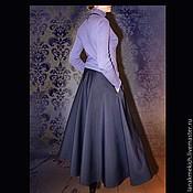 Одежда handmade. Livemaster - original item Skirt long flared