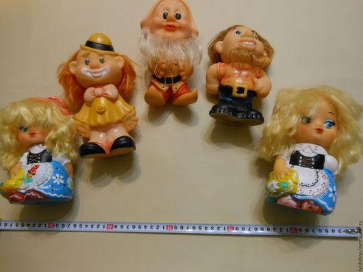 Винтажные куклы и игрушки. Ярмарка Мастеров - ручная работа. Купить Куклы резиновые винтаж. Handmade. Винтажный стиль, пират