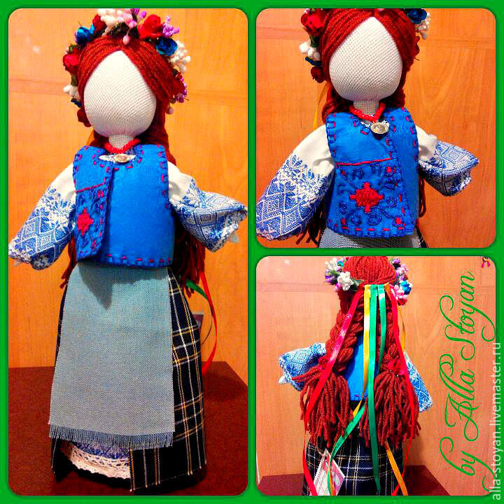 Украинская кукла мотанка пошагово