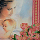 """Иконы ручной работы. """"Молитва о дочери"""". Вышивка от Виктории Егоровой (BeadworkArt). Интернет-магазин Ярмарка Мастеров. Молитва, дочь"""