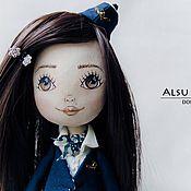 """Куклы и игрушки ручной работы. Ярмарка Мастеров - ручная работа Авторская кукла. Стюардесса """"Аэрофлот"""". Handmade."""