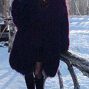 Одежда ручной работы. Ярмарка Мастеров - ручная работа Шуба из ламы. Handmade.
