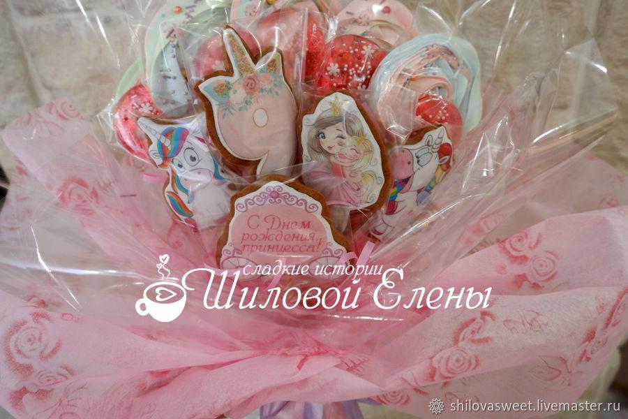 Сладкие букеты, Пряники, Москва,  Фото №1
