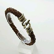 Украшения handmade. Livemaster - original item Bracelet made of genuine snake leather. Handmade.