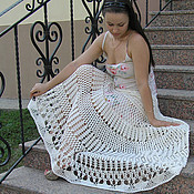 Одежда handmade. Livemaster - original item Crochet skirt by Etro motives. Handmade.