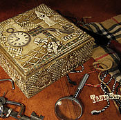 Для дома и интерьера handmade. Livemaster - original item Box visiting HOLMES. Handmade.