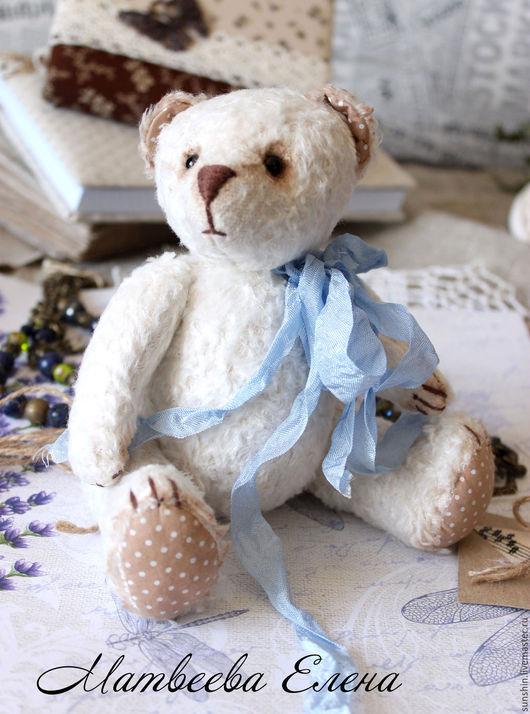 Мишки Тедди ручной работы. Ярмарка Мастеров - ручная работа. Купить Мишка Тедди Поль. Handmade. Белый, теддик