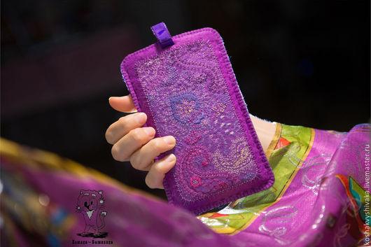 """Для телефонов ручной работы. Ярмарка Мастеров - ручная работа. Купить """"Сон Индии"""" - чехол для телефона, планшета, айфона. Handmade."""