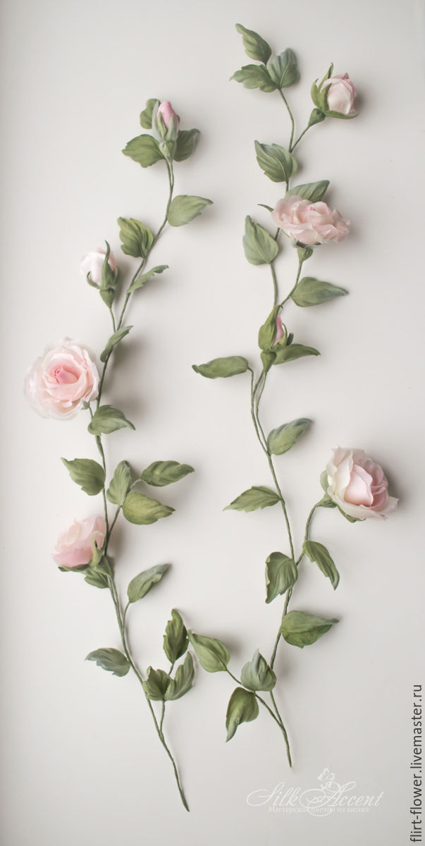 Sprigs Of Roses For Dresses Silk Flowers Rose Bed Canopy