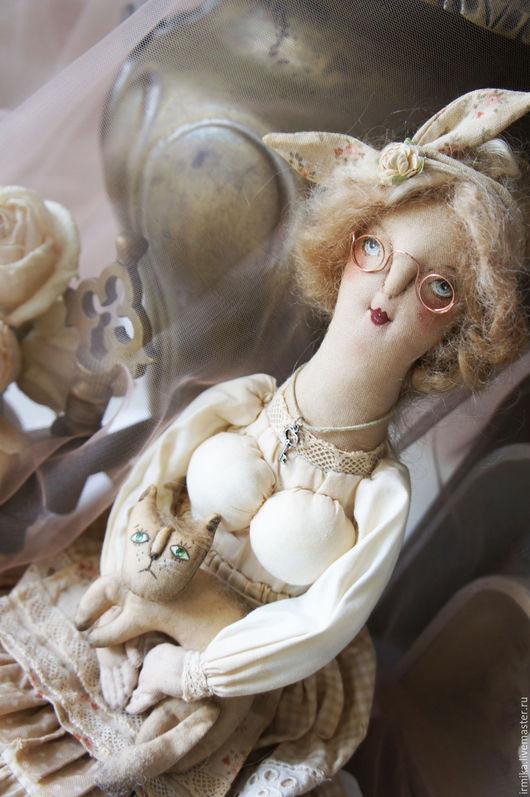 Коллекционные куклы ручной работы. Ярмарка Мастеров - ручная работа. Купить Коллекционная текстильная кукла.Берегиня домашнего очага. Винтаж.. Handmade.