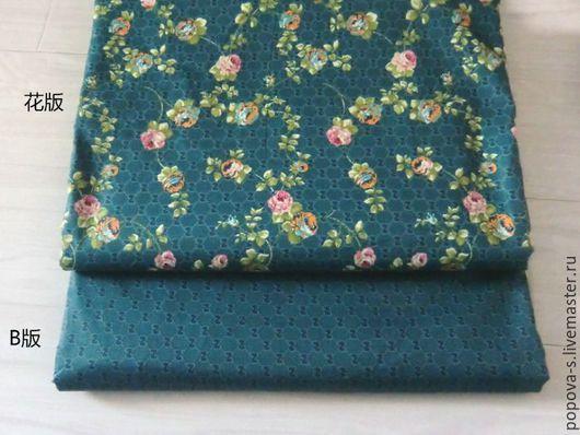 """Шитье ручной работы. Ярмарка Мастеров - ручная работа. Купить Набор ткани """"Розы"""". Handmade. Комбинированный, ткань с рисунком"""