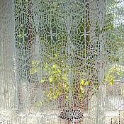 "Для дома и интерьера handmade. Livemaster - original item Curtain crochet ""Air"". Handmade."