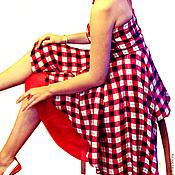 Платья ручной работы. Ярмарка Мастеров - ручная работа Платье из шелкового крепдешина. Handmade.