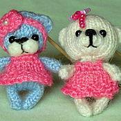 Куклы и игрушки ручной работы. Ярмарка Мастеров - ручная работа Мишка -малышка. Handmade.