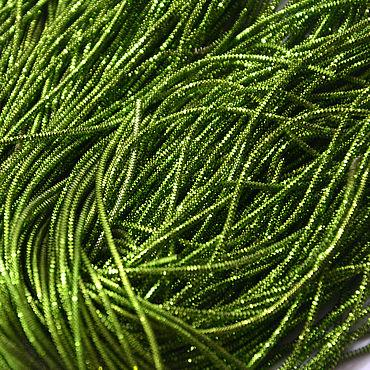 Материалы для творчества ручной работы. Ярмарка Мастеров - ручная работа Трунцал 2 мм  лесной зеленый 5 грамм. Handmade.