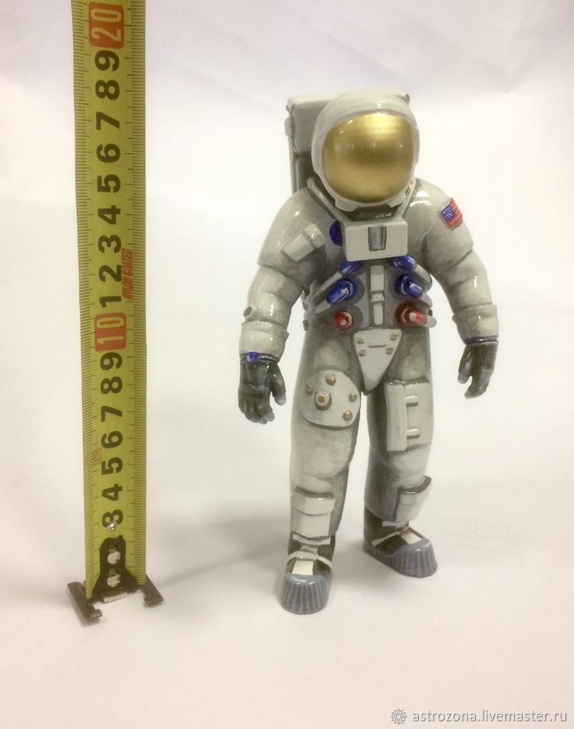 Астронавт Apollo 18 см, Статуэтки, Москва,  Фото №1