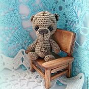 Куклы и игрушки ручной работы. Ярмарка Мастеров - ручная работа Игрушка мишка Заплаткин. Handmade.
