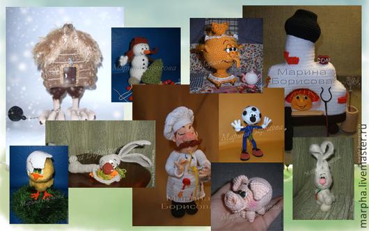 Вязание ручной работы. Ярмарка Мастеров - ручная работа. Купить Набор из 10 PDF мастер-классов. Handmade. Мастер-класс