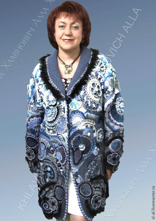 """Верхняя одежда ручной работы. Ярмарка Мастеров - ручная работа. Купить Пальто """"Непредсказуемая фантазия"""" мод.№122. Handmade. Пальто"""
