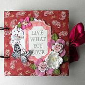 Подарки к праздникам ручной работы. Ярмарка Мастеров - ручная работа Мини-альбом для фото. Handmade.