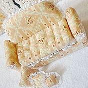 Куклы и игрушки ручной работы. Ярмарка Мастеров - ручная работа Мини-диванчик Неженка. Handmade.