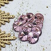 Материалы для творчества handmade. Livemaster - original item Glass rhinestones 12 mm Rivoli Dawn. Handmade.