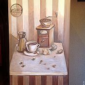 Дизайн и реклама ручной работы. Ярмарка Мастеров - ручная работа Роспись холодильника. Handmade.
