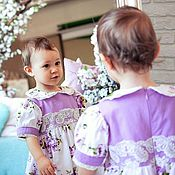 Работы для детей, ручной работы. Ярмарка Мастеров - ручная работа Платье для девочки Miracle. Handmade.