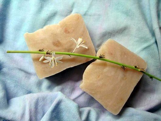 Мыло-шампунь ручной работы. Ярмарка Мастеров - ручная работа. Купить шампуневое мыло с нуля «Ветер на море». Handmade. Белый