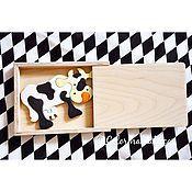 Куклы и игрушки ручной работы. Ярмарка Мастеров - ручная работа Деревянные пазлы. Handmade.