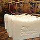 """Мыло ручной работы. Ярмарка Мастеров - ручная работа. Купить Основа """"Шелковая с нуля"""". Натуральное мыло с нуля. Handmade. Белый"""
