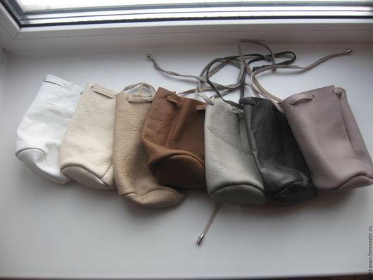 Гадания ручной работы. Ярмарка Мастеров - ручная работа. Купить Кожаные мешочки для рун. Handmade. Руны, натуральная кожа