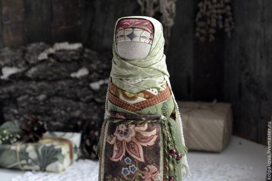 """Народные куклы ручной работы. Ярмарка Мастеров - ручная работа. Купить куколка-оберег На удачное замужество """"Когда зацветает папоротник"""".. Handmade."""