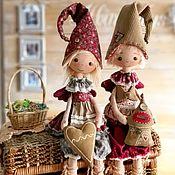Чердачная кукла ручной работы. Ярмарка Мастеров - ручная работа Домовой гном.Текстильная чердачная кукла. Оберег. Doll. Handmade.