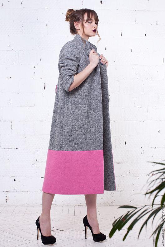 Пальто из лодена WARWARA. Возможно  исполнение в других цветах.