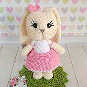 Куклы и игрушки handmade. Livemaster - original item Bunny crochet toy. Handmade.