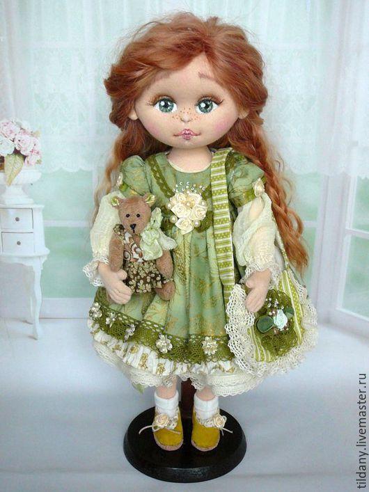 Коллекционные куклы ручной работы. Ярмарка Мастеров - ручная работа. Купить Лиза. Кукла текстильная.. Handmade. Кукла ручной работы