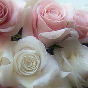 """Свадебный салон ручной работы. Ярмарка Мастеров - ручная работа шпильки розы """"Свадебные"""". Handmade."""
