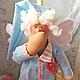 Куклы Тильды ручной работы. Заказать Тильда-Ангел сна-Сплюшка. Фатима Мамсирова. Ярмарка Мастеров. Тильда, хлопок, синтепух