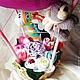 Подарки для новорожденных, ручной работы. Воздушный шар. Мария (bbshower). Интернет-магазин Ярмарка Мастеров. Шар воздушный, подарок на рождение
